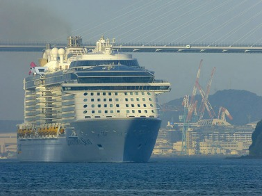 Afbeeldingsresultaat voor Quantum of the Seas in Nagasaki