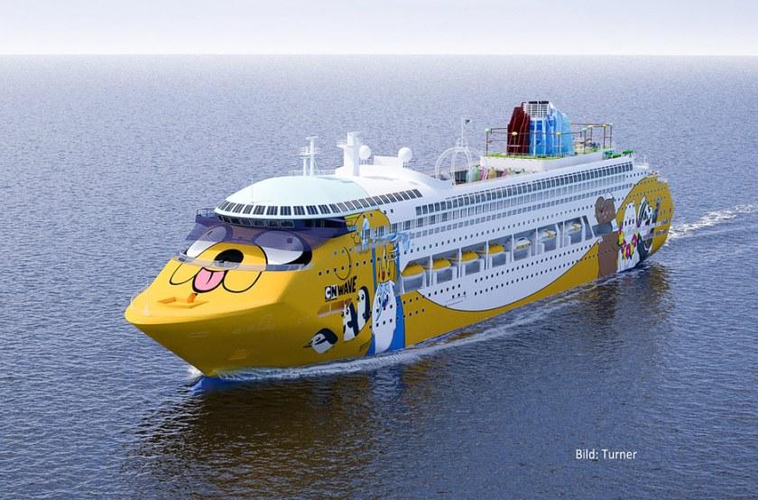 Cartoon Network krijgt cruiseschip – Cruisedesko